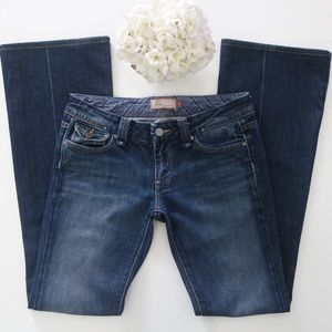 Paige Pico jeans with distressed pockets size 27